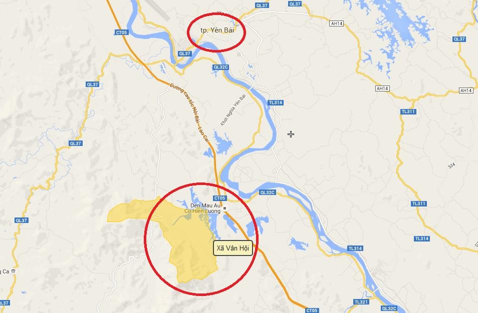 Khu vực Hoa Sen đang nghiên cứu lập dự án đầu tư khu tâm linh, sinh thái Vân Hội, cách TP Yên Bái chừng 20km, nằm gần cao tốc Nội Bài-Lào Cai.
