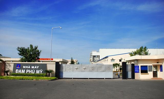 Nhà máy đặt tại Khu công nghiệp Phú Mỹ, tỉnh Bà Rịa Vũng Tàu, cách TPHCM khoảng 50 km.