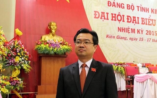 Bí thư Tỉnh ủy Kiên Giang Nguyễn Thanh Nghị thuộc nhóm Bí thư dưới 40 tuổi