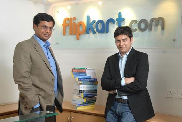 7. Flipkart</p></div><div></div></div><p></p><p>Giá trị vốn hóa ước tính: 15 tỷ USD</p><p>Số vốn đã huy động được: 3 tỷ USD</p><p>Nhà sáng lập: Sachin Basal (trái) và Binny Basal