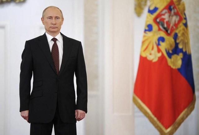 Tổng thống Nga Vladimir Putin đứng đầu danh sách.