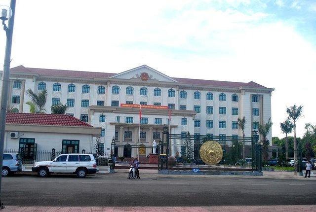 Trụ sở hiện tại của UBND tỉnh Hà Tĩnh.