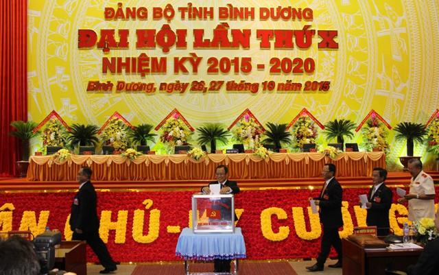 Đại biểu bầu Đoàn Đại biểu đi dự Đại hội Đảng toàn quốc lần thứ XII