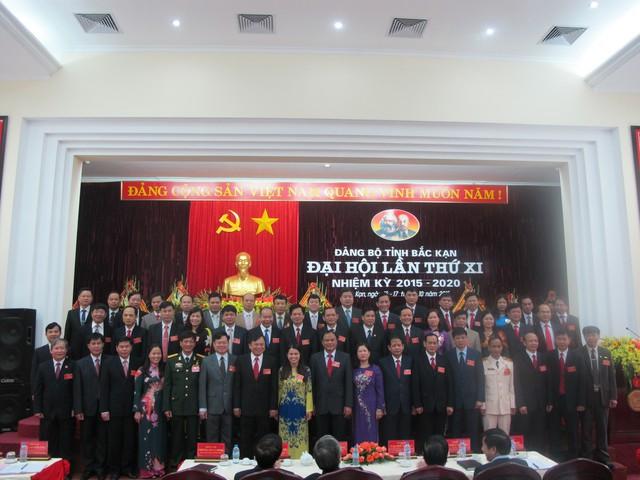Ban Chấp hành Đảng bộ tỉnh khóa XI, nhiệm kỳ 2015 - 2020 ra mắt Đại hội