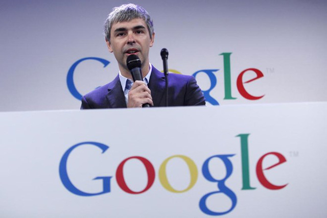 CEO Google Larry Page thứ 10.
