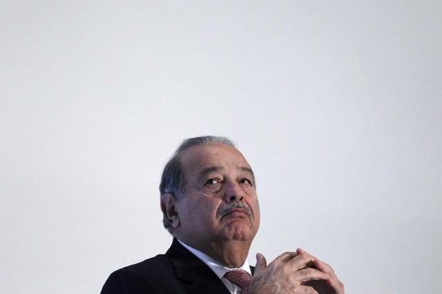 Tỷ phú Mexico Carlos Slim thứ 15.