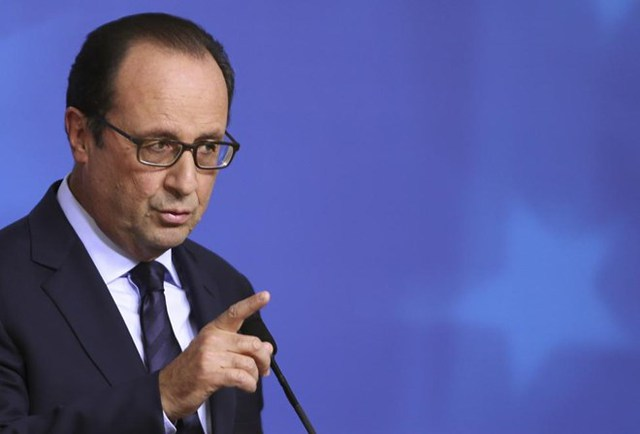 Tổng thống Pháp Francois Hollande thứ 16.