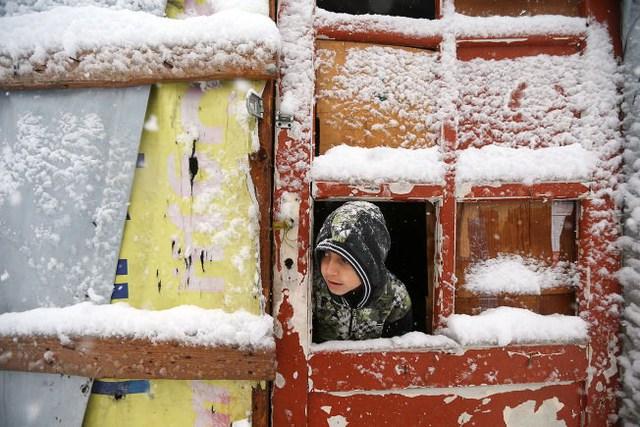 Một đứa trẻ Syria trong trại tị nạn ở Liban. (Nguồn: Usnews)
