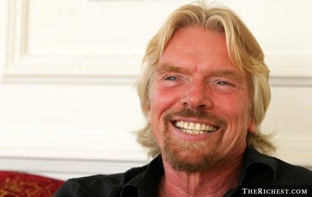 Công việc hiện tại: Người sáng lập và Chủ tịch của Virgin Group.