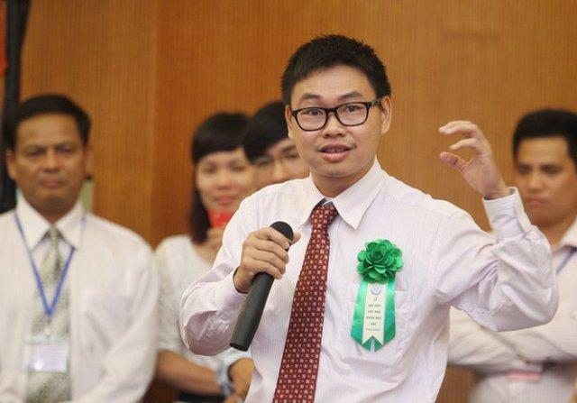 TS Nguyễn Bá Hải đưa ra những khó khăn và kiến nghị trong quá trình nghiên cứu khoa học - Ảnh: Nguyễn Khánh