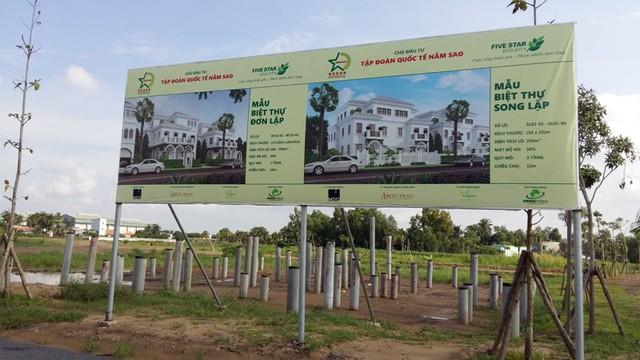 Theo một đại diện của chủ đầu tư, dự án đã bắt đầu mở bán nền đất cho khách hàng có nhu cầu.