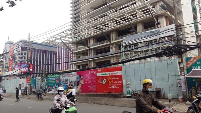 Tòa tháp B của dự án