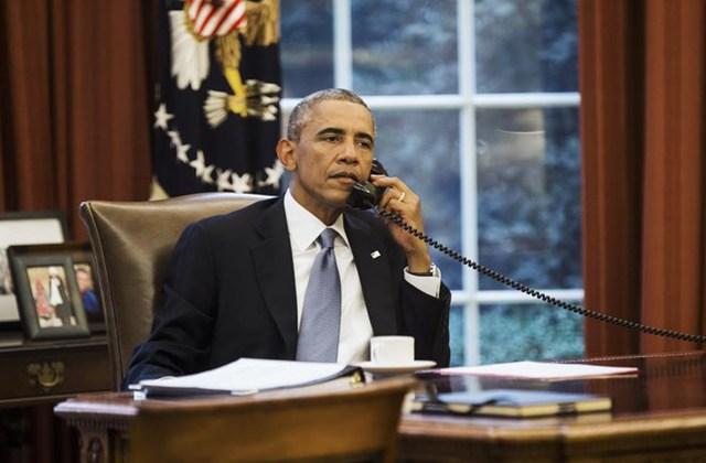 Tổng thống Mỹ Barack Obama đứng thứ 3.