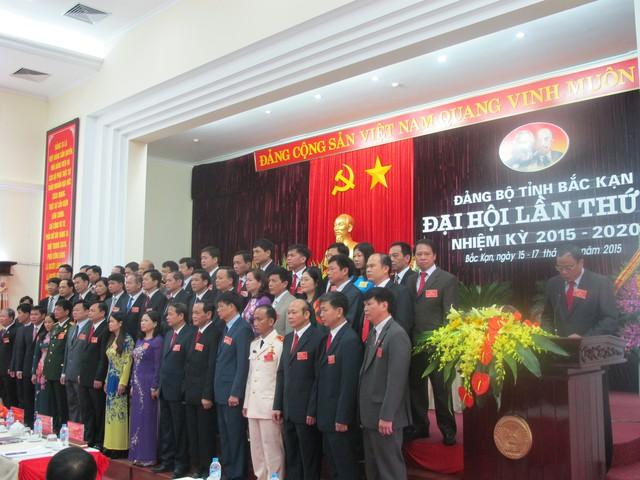 Đ/c Bí thư Tỉnh ủy khóa XI thay mặt Ban Chấp hành phát biểu tại Đại hội