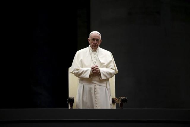 Giáo hoàng Francis đứng thứ 4.