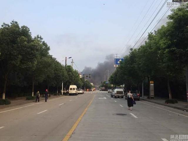 Vụ nổ đã làm 7 công nhân bị thương, trong đó có 2 người bị thương nặng.