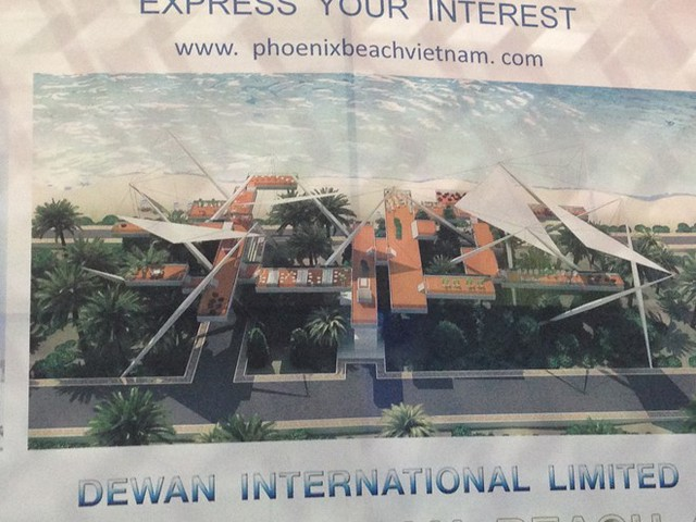 Theo thiết kế của Dewan công bố tại Cảng hàng không quốc tế Cam Ranh sẽ thay thế bằng những quán cà phê trên cao nhu thế này.