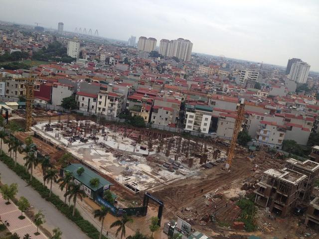 Tòa nhà công vụ N04A: Chủ đầu tư Tổng công ty xây dựng Hà Nội. Thiết kế ban đầu: 23 tầng nổi + 1 tầng hầm. Diện tích căn hộ: 59,2m2; 67,62m2; 67,88m2, 79,02m2. Tiến độ thực tế: Tòa nhà iện đã thi công đến sàn tầng 1