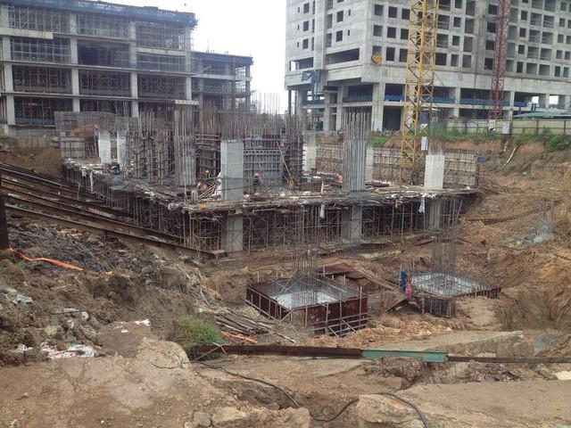 Nhiều chung cư đang mọc lên ở dự án Đoàn Ngoại Giao