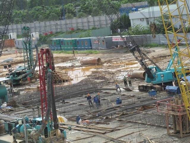 Dự án The Sun Avenue của tập đoàn BĐS Novaland tại khu Đông Tp.HCM. Hiện nay dự án đang trong giai đoạn hoàn thiện phần móng.