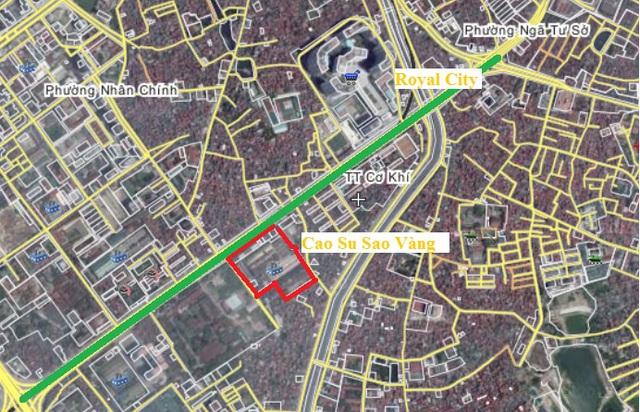 Khu đất vàng Cao Su Sao Vàng gần nhiều dự án đô thị lớn, bám sát tuyến metro