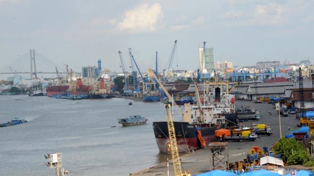 Một góc Cảng Sài Gòn hiện hữu