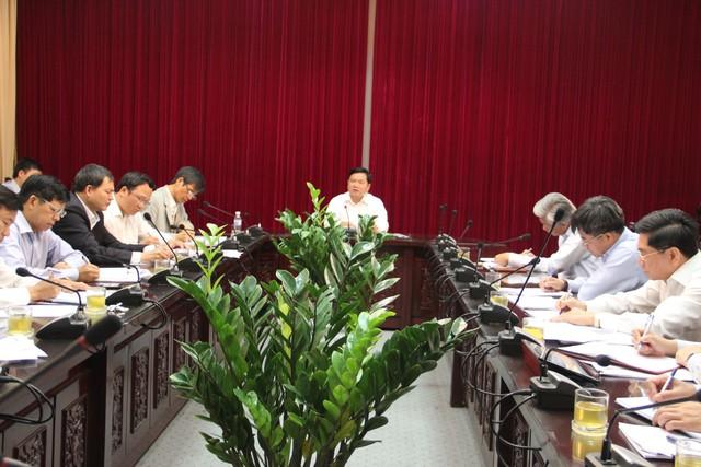 Bộ trưởng Đinh La Thăng chủ trì cuộc họp triển khai thực hiện Đề án huy động vốn xã hội hóa để đầu tư kết cấu hạ tầng hàng không
