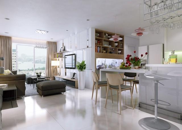 Từ sự đơn giản trong bố cục, những kết hợp ăn ý về màu sắc đã làm cho không gian nhà bạn trở nên thông thoáng, trẻ trung mà không kém phần hiện đại, sang trọng.