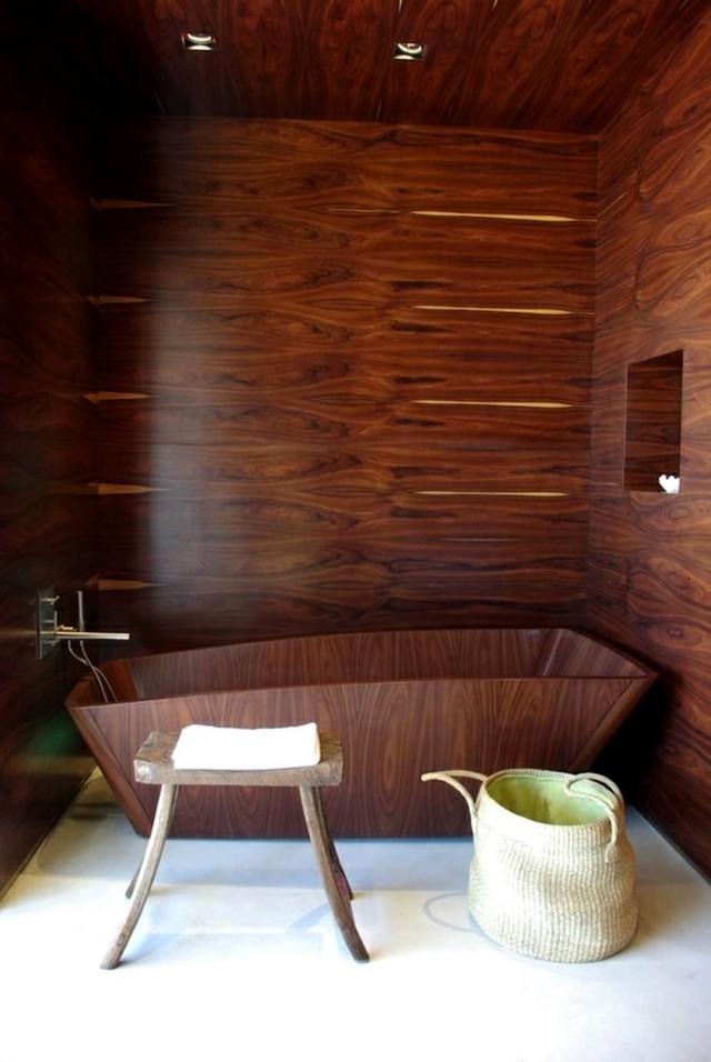 Với nhiều kiểu dáng đa dạng, bồn tắm gỗ đang được rất nhiều người ưa chuộng