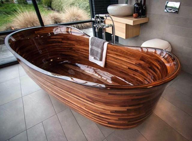 Với thiết kế tinh tế và sang trọng, những bồn tắm thế này đang ngày càng được ưu chuộng