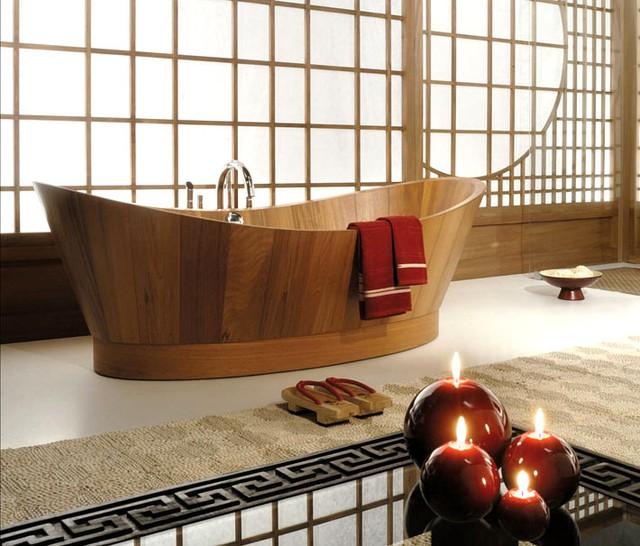 Bồn tắm hình bầu dục mang tính hiện đại và sáng tạo cho không gian nhà bạn.