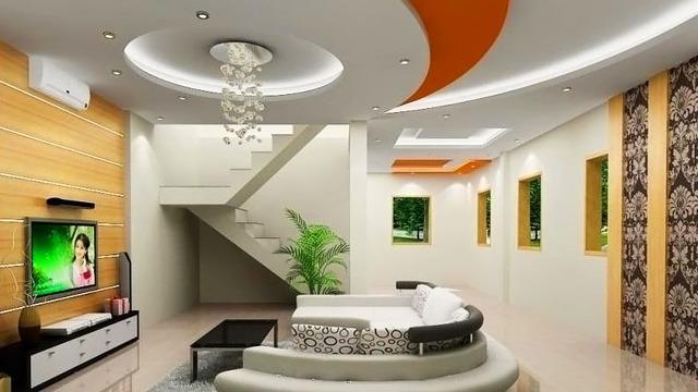 Với mẫu trần thạch cao này, phòng khách nhà bạn không chỉ trở nên ấm cúng mà còn tạo nên cảm giác không gian nhà rộng hơn.