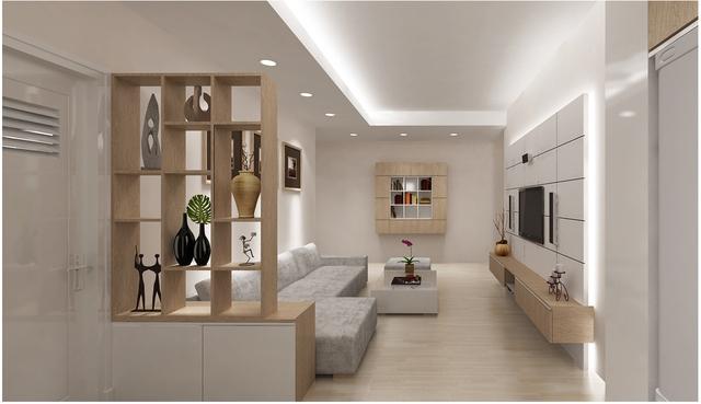Một căn nhà gọn gàng, ngăn nắp sẽ được lòng khách mua