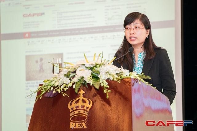 Bà Trần Hải Yến: Quy mô các doanh nghiệp thuộc nhóm ngành nông nghiệp niêm yết trên TTCK còn khiêm tốn