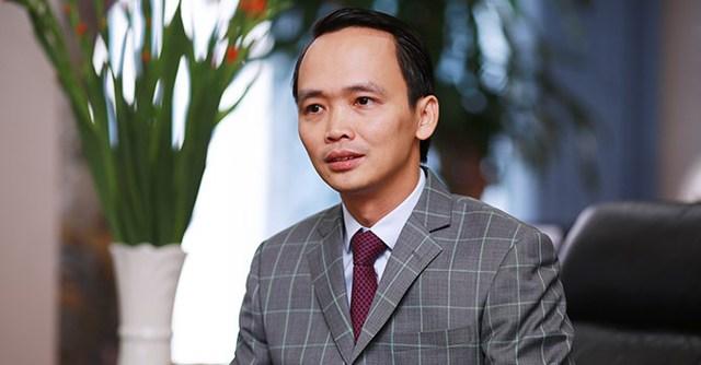 Ông Trịnh Văn Quyết, Chủ tịch HĐQT Tập đoàn FLC
