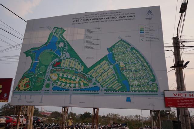 """Dự án Khu du lịch sinh thái văn hóa cà phê Suối Xanh được phê duyệt từ 2009 nhưng đến nay vẫn chỉ là """"khu ổ chuột"""""""