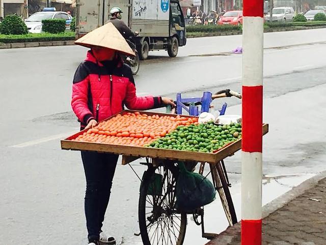 Dân bán rong tiết lộ khoản lãi khủng từ công việc bán hoa quả đầu mùa