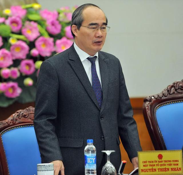 Chủ tịch UBTƯ MTTQ Việt Nam Nguyễn Thiện Nhân