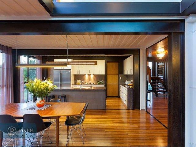 Phòng bếp rộng rãi và thoáng mát
