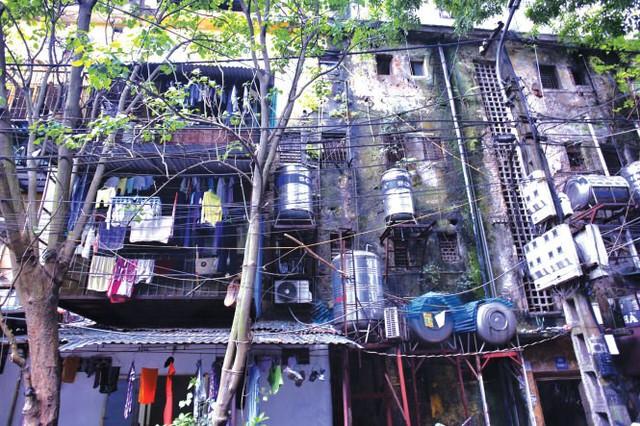Giật mình với những hình ảnh rùng rợn tại chung cư Hà Nội
