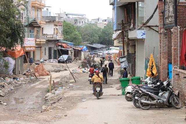 Đoạn đường chưa đầy 1km đang trong tình trạng xuống cấp trầm trọng