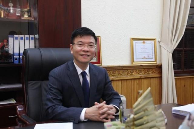 Bộ trưởng Bộ Tư pháp Lê Thành Long (Ảnh: Pháp luật Việt Nam)