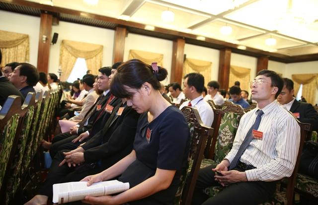 Tại Hội nghị, Chính phủ, các cơ quan hữu quan mong muốn lắng nghe doanh nghiệp phản ánh những khó khăn, vướng mắc, hiến kế, góp ý để cùng chung tay tháo gỡ. Ảnh: VGP