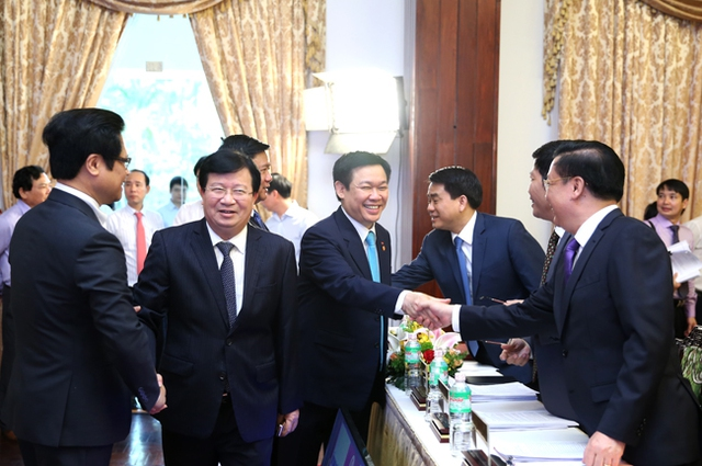 Phó Thủ tướng Trịnh Đình Dũng tham dự Hội nghị. Ảnh: VGP
