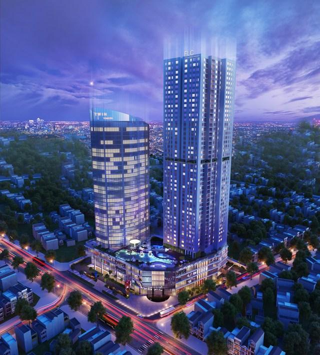 FLC Twin Towers là một trong những tòa nhà cao tầng hiếm hoi còn được phép xây dựng ở khu vực nội đô Hà Nội.