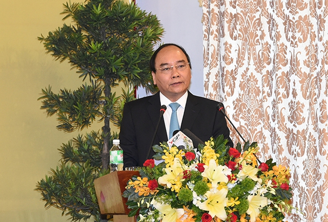 Thủ tướng nhấn mạnh kết quả của hội nghị phải tạo ra niềm tin mới để mọi người dân, doanh nghiệp hăng hái sản xuất, kinh doanh, phát triển. Ảnh: VGP
