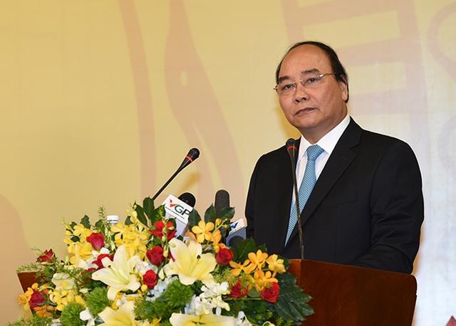 Thủ tướng phát biểu khai mạc Hội nghị. Ảnh: VGP