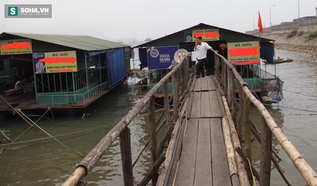 Nhà hàng nơi cung cấp nguồn nước cho đoàn Quan trắc môi trường và đoàn PV làm clip 2 phút khiến cá chết trong nước biển Vũng Áng.
