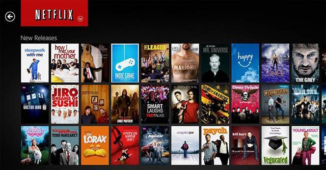 Netflix có giao diện rất trực quan và dễ sử dụng