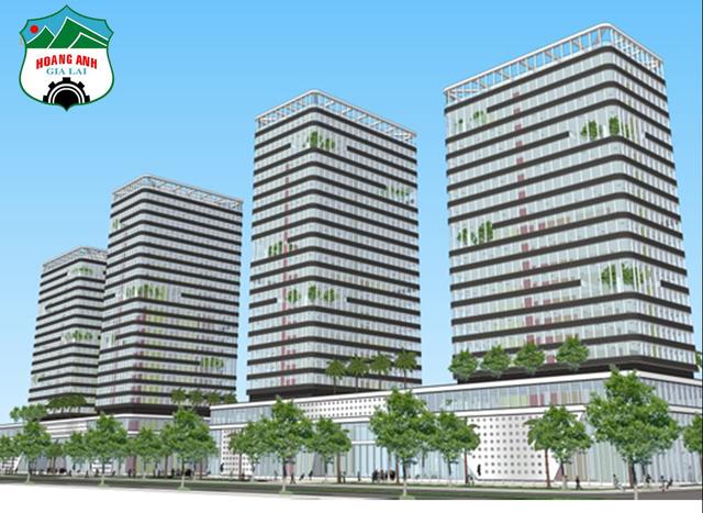 Mặt tiền trải dài với 4 tầng thương mại và căn hộ cho thuê